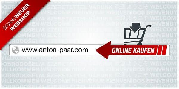 Der neue Anton-Paar-Webshop: Mit einem Klick zur Präzision