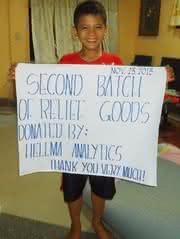 Hilfe für die Philippinen: Hellma Analytics startet Spendenaktion