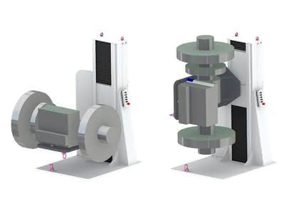 Hub- und Schwenkgerät für Montageplätze: Wartung - ganz bequem gemacht