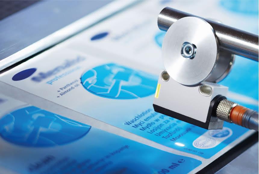 Farbsensor für Druckmarken:: Nuancen reichen