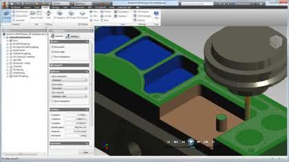 Software: Autodesk stellt Integrated CAM für Inventor vor