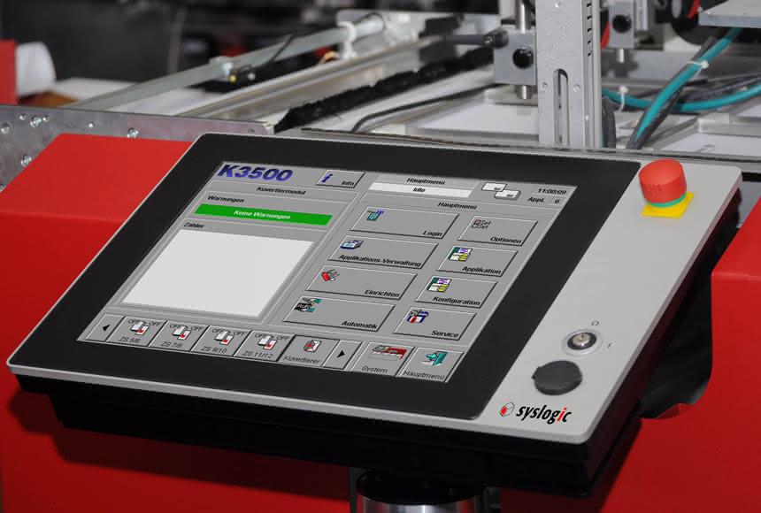Touchpanel für den Industrieeinsatz:: Eigenarbeit am Herzen