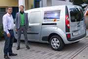 JAT mit Erweiterungsbau:: Pendeln mit dem E-Mobil
