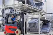 Linde MH mit Forschungsprojekt bei BMW: Brennstoffzellenstapler für E-Mobility-Produktion