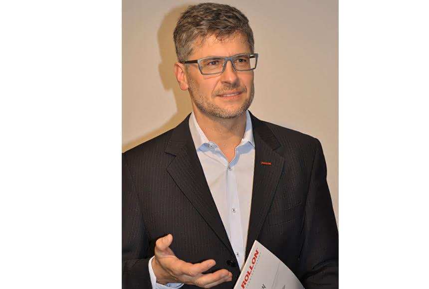 Rollon hebt Expansion auf die Schiene:: Müller macht Motion