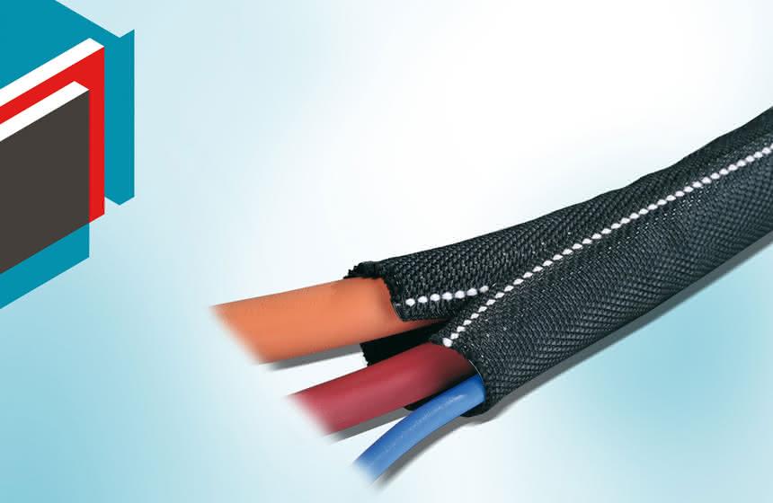 Kabel in Maschinen:: Nachträglicher Schutz möglich