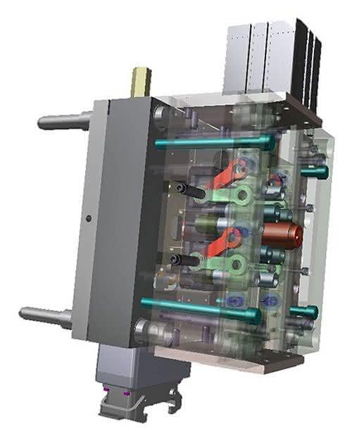 Effizienter Spritzgießen: Heißkanaldüse mit kräftiger Verschlussnadel