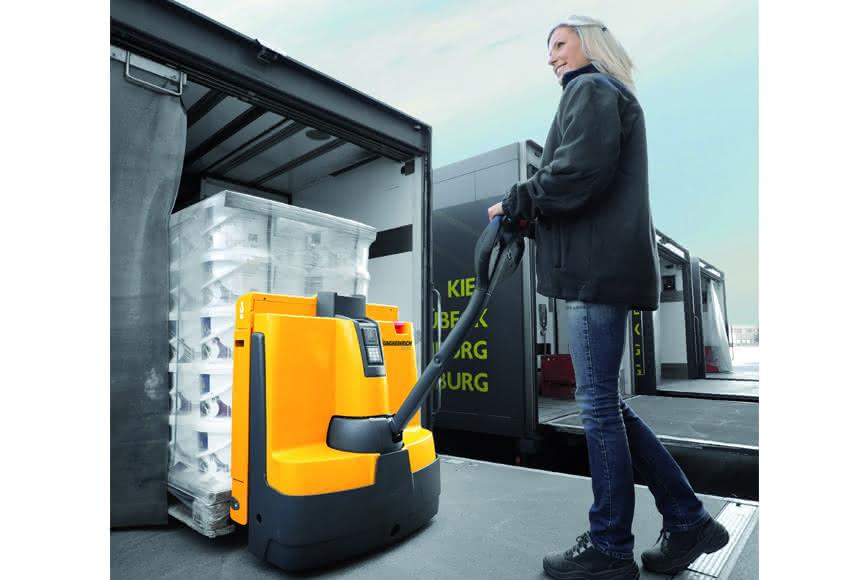 Jungheinrich für Ecodesign 2013 nominiert:: Hubwagen gefällt auch ökologisch