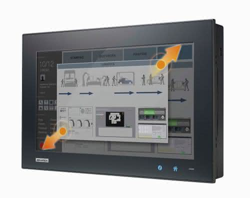 Advantech: Robuste Panel PCs mit Eleganz