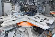 Fibro Schwerlasttisch bietet viele Chancen:: Verwandlungskünstler aus Stahl