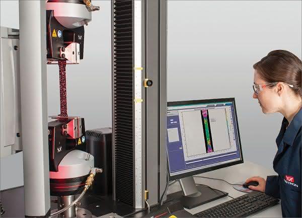 Werkstoff- und Komponentenprüfung: DIC visualisiert örtliche Verformungen auf Oberflächen