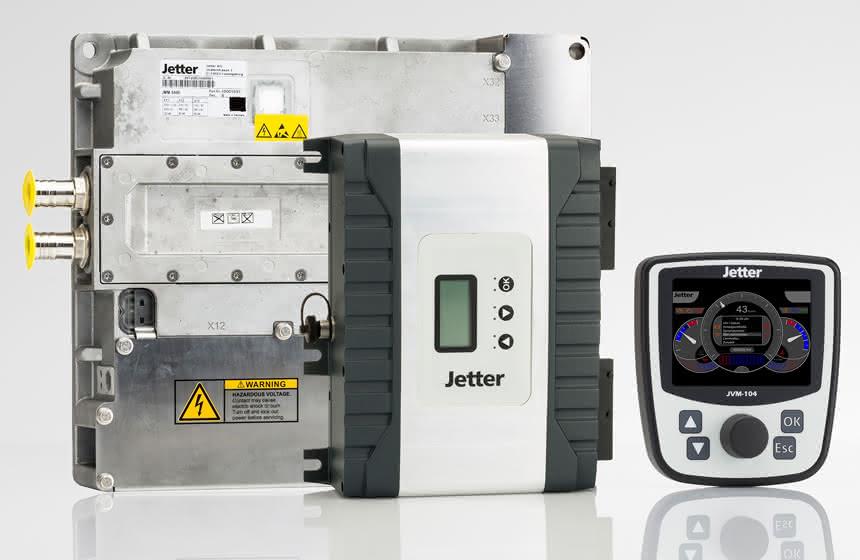 Jetter stärkt Antriebe:: Verstärker für den Wirkungsgrad