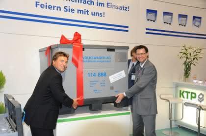 News: Millionster Behälter für VW