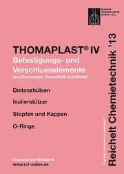 Handbuch THOMAPLAST®-IV: Befestigungs- und Verschlusselemente