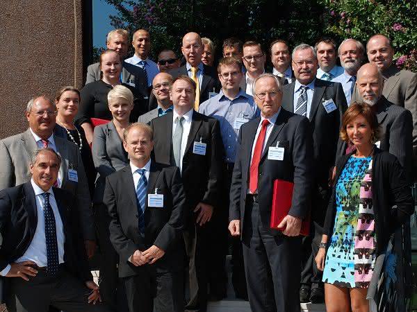 Teilnehmer der Herbsttagung der Fluorpolymergroup