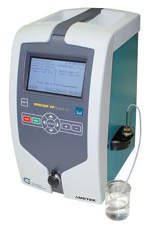 Für niedrige Dampfdrücke: Neues Messgerät