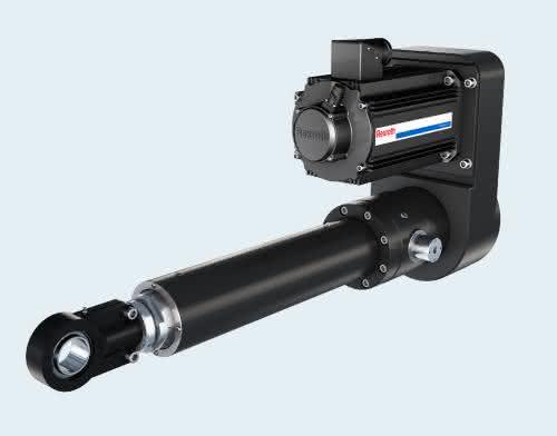 Elektromechanische Schwerlastzylinder: Bewegungsabläufe frei variieren