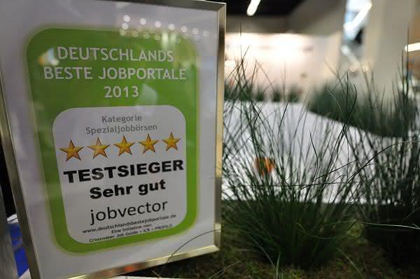 Jobbörsen-Qualitätsstudie 2013: jobvector ist Deutschlands beste