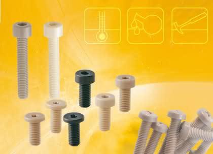 Kunststoffschrauben: Es muss nicht immer Metall sein