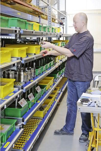 Lagerlift: Klein, schnell, effizient