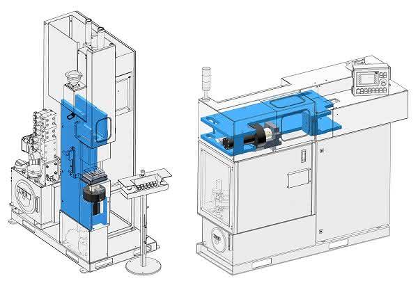 Zwei Varianten der Elastomer-Spritzgießmaschinen