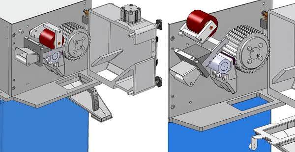Einseitig gelagerter Strang-Granulator