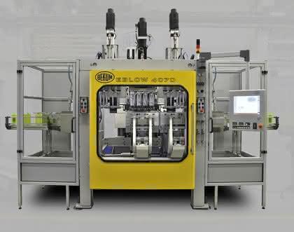 Blasformmaschinen: Mit voll elektrischem Antrieb