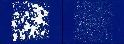 Beschichtete Oberfläche nach einem Multi-Steinschlagtest