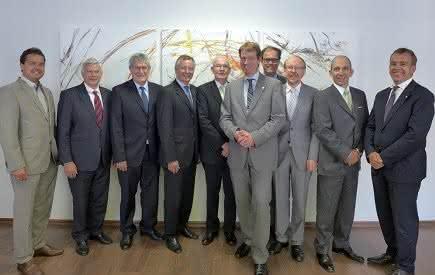 Die Mitglieder der Gründungssitzung von Composites Germany