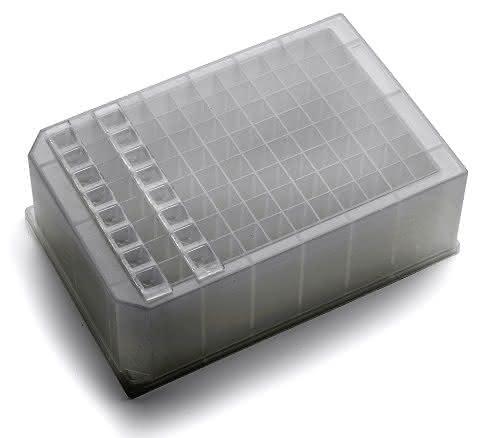 Versiegelung von Mikroplatten: Cap Strips
