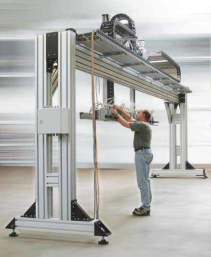 Schwerlastprofile: Aluminium statt Stahl