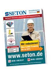 Sicherheit und Gesundheitsschutz: Der neue SETON Katalog