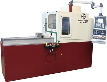 Endenbearbeitungsmaschine: Mit kräftigem Motor