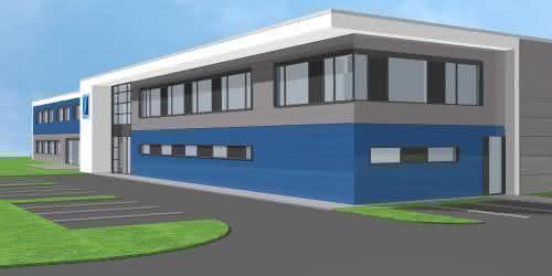 Neues Firmengebäude: Stollberg: Wesko feiert Richtfest