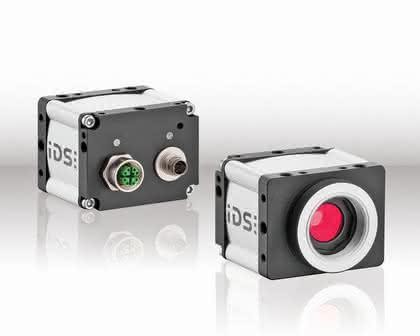 Kompaktindustriekamera: Strom aus dem Ethernet