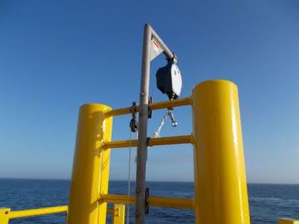 Höhensicherungsgeräte: Besonders wetterbeständig
