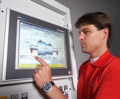 Fingerprint-Service: Servicetool für Auswuchtmaschinen