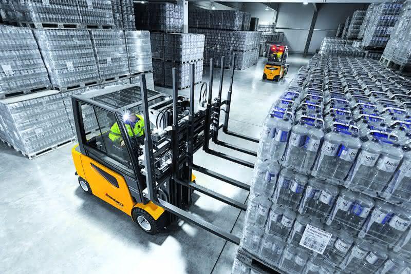 News: Jungheinrich bereitet sich auf die Drinktec 2013 vor
