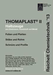 Halbzeuge aus Elastomere, Kunststoff und Metall: Handbuch THOMAPLAST®-II