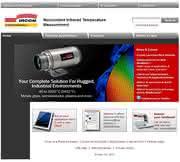 Ircon-Pyrometer: Neuer Internetauftritt