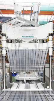 LFI-Anlage mit Doppel-Shuttle Formenträgersystem