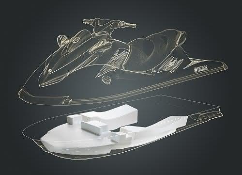 Partikelschaumstoff E-por® im Bootskörper von Yamaha WaveRunner