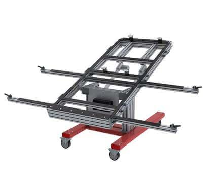 Montagetisch MT-400 L: Montage am Tisch
