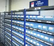 Automatisierte Bestellung von C-Teilen mit RFID.: Leere Behälter sorgen für Nachschub