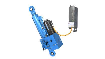 Autarke Achse: Hydraulik ohne Aggregat
