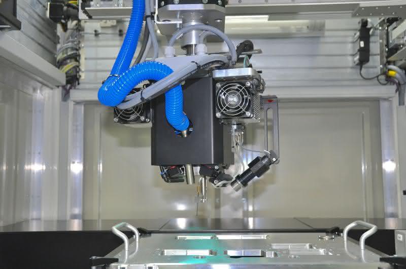 Laserlöten mit Bildverarbeitungssoftware VisionPro:: Die Geometrie des Punkts
