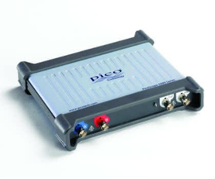 Das physikalische Labor: Neue USB- Oszilloskopserie