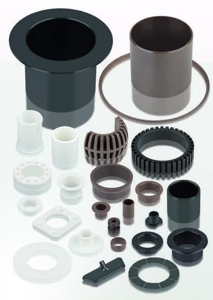 Polymer-Gleitlager: Trocken und geschmiert