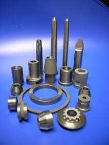 Hartmetall-Bauteile: Verschleißfest