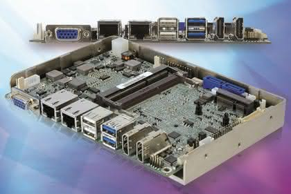 CPU-Board: Ohne Lüfter